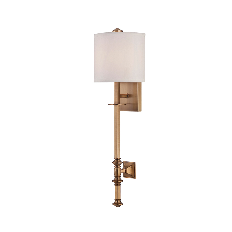 Wall Lamps Europe : Products ? Devon 1 Light Wall Lamp ? SAVOY HOUSE EUROPE. S.L.