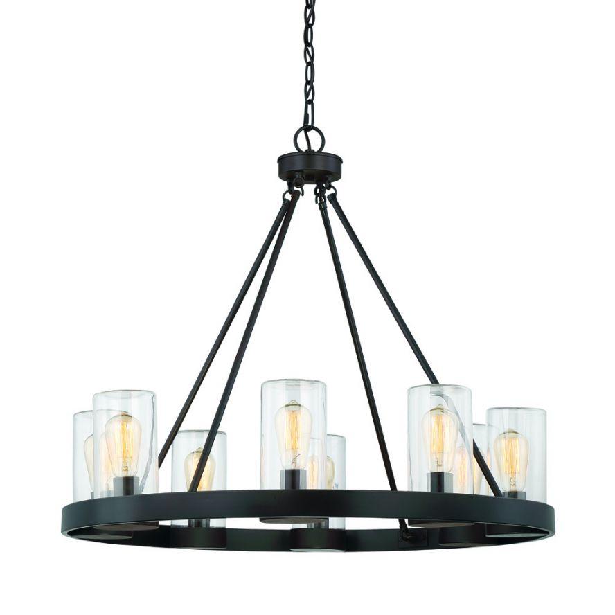 Chandelier Outdoor Lighting: Products · Inman 8 Light Outdoor Chandelier · SAVOY HOUSE