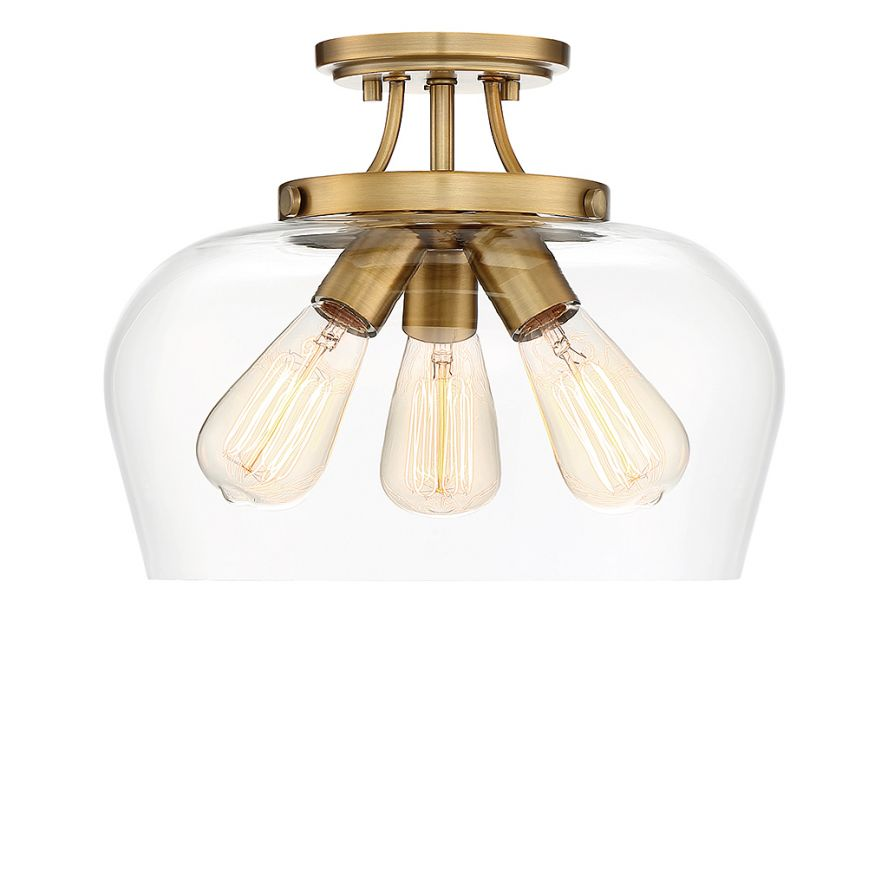 products octave 3 light semi flush savoy house europe s l