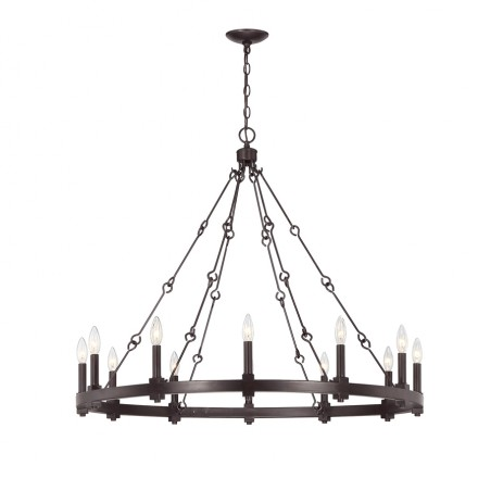 Savoy House Europe Adria 12 Light Chandelier