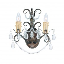 Savoy House Europe Carrington 2 Light Wall Lamp