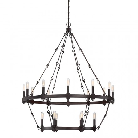 Savoy House Europe Adria 18 Light Chandelier
