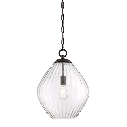 Savoy House Europe Carnegie 1 Light Pendant