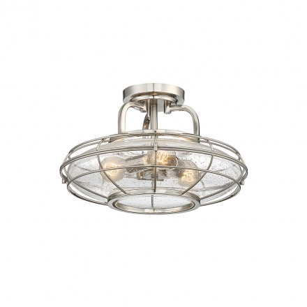Savoy House Europe Connell 3 Light Semi-Flush