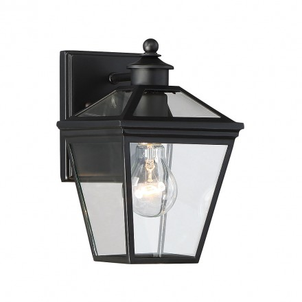Savoy House Europe Ellijay 1 Light Steel Wall Lantern
