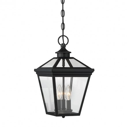 Savoy House Europe Ellijay 3 Light Steel Hanging Lantern