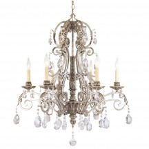 Savoy House Europe Barcelona 6 Light Chandelier