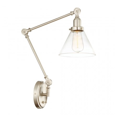 Savoy House Europe Drake 1 Light Adjustable Sconce