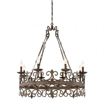 Savoy House Europe Flanders 8 Light Chandelier