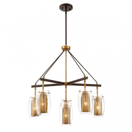 Savoy House Europe Dunbar 6 Light Chandelier