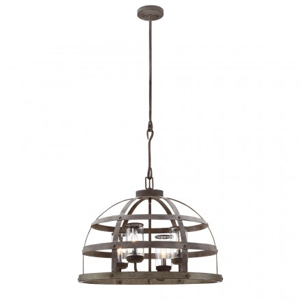 Savoy House Europe Aiken 4 Light Outdoor Pendant
