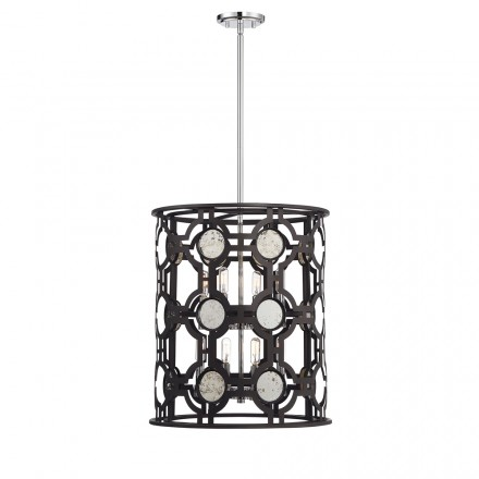 Savoy House Europe Chennal 8 Light Foyer Entry Lantern