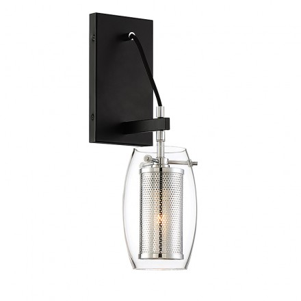 Savoy House Europe Dunbar 1 Light Wall Sconce