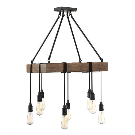 Savoy House Europe Burgess 8 Light Pendant