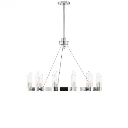 Savoy House Europe Baldwin 12 Light Chandelier