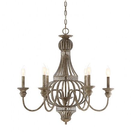 Savoy House Europe Ashford 6 Light Chandelier
