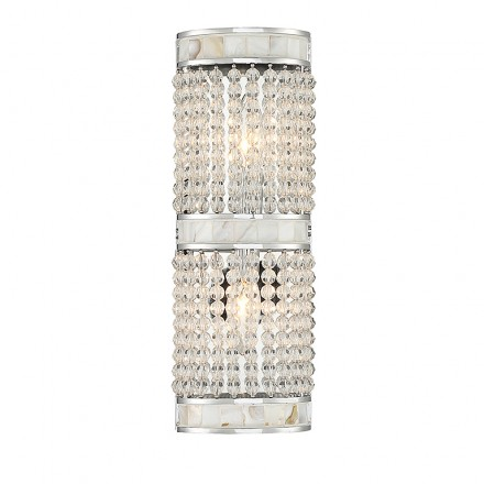 Savoy House Europe Bourne 2 Light Wall Sconce