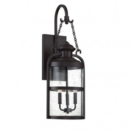 Savoy House Europe Brekenridge 3 Light Wall Lantern