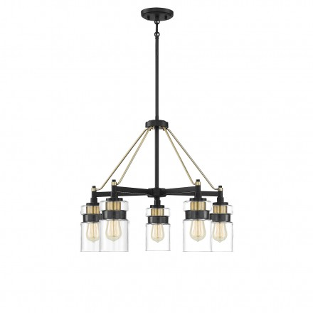 Savoy House Europe Colfax 5 Light Chandelier