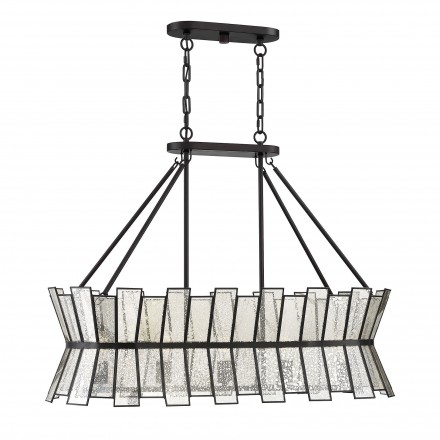 Savoy House Europe Chapelle 5 Light Linear Chandelier