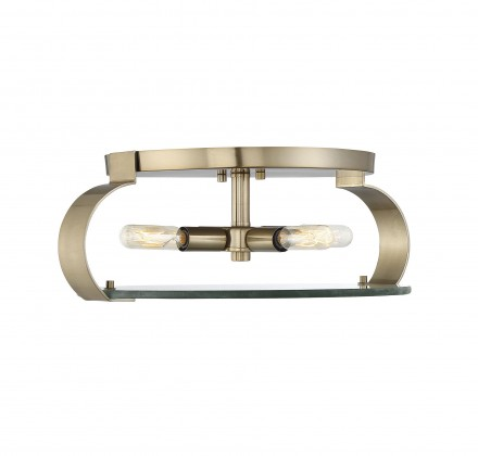 Savoy House Europe Drummond Noble Brass Flush Mount