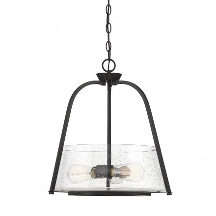 Savoy House Europe Dash 3 Light English Bronze Pendant