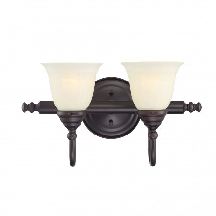 Savoy House Europe Brunswick 2 Light Bath Bar