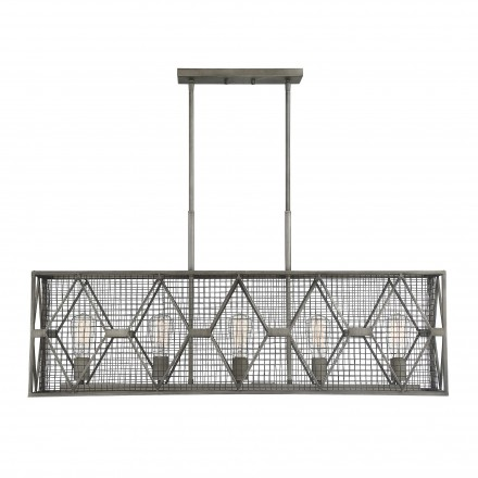 Savoy House Europe Arbor 5 Light Linear Chandelier