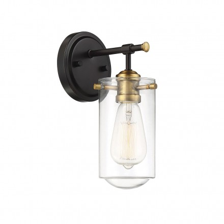 Savoy House Europe Clayton 1 Light Wall Sconce