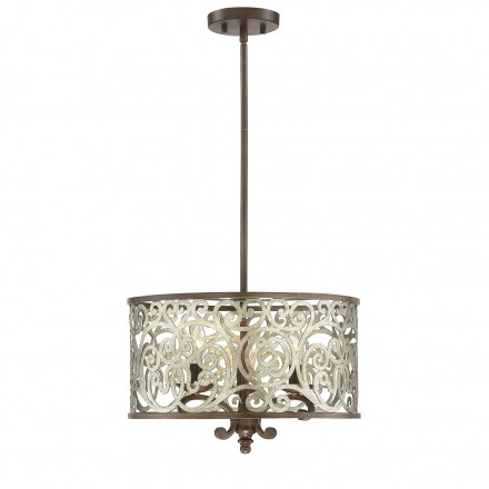 Savoy House Europe Erhardt 3 Light Convertible Semi Flush-Pendant