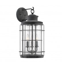 Savoy House Europe Fletcher 3 Light Outdoor Wall Lantern