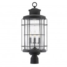 Savoy House Europe Fletcher 3 Light Outdoor Post Lantern