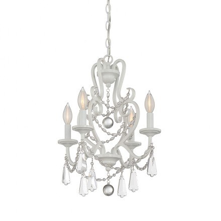 Savoy House Europe 4 Light Mini Chandelier