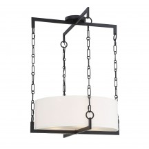 Savoy House Europe Abbott 4 Light Matte Black Pendant