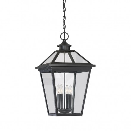 Savoy House Europe Ellijay Black Hanging Lantern