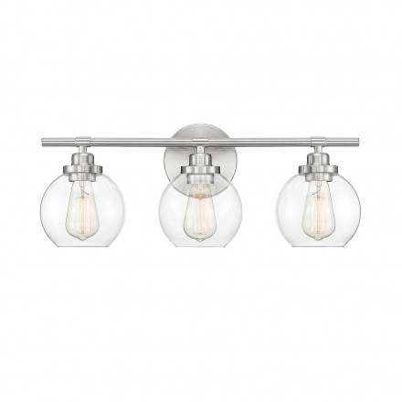 Savoy House Europe Carson Satin Nickel 3 Light Bath