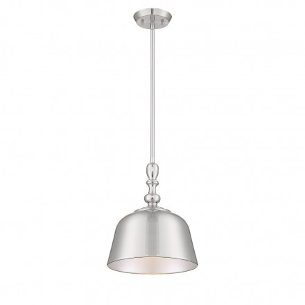 Savoy House Europe Berg Satin Nickel 1 Light Pendant