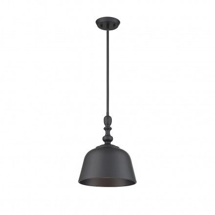 Savoy House Europe Berg Matte Black 1 Light Pendant