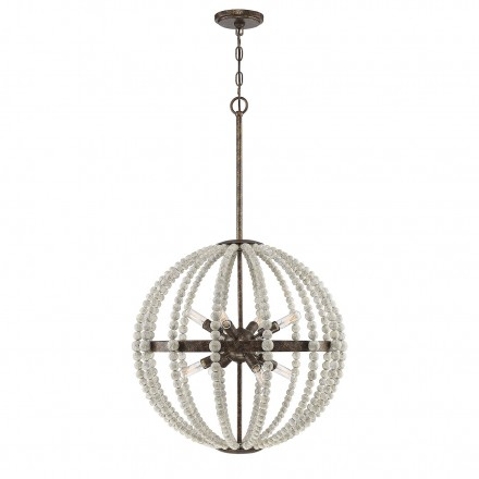 Savoy House Europe Desoto Avignon 8 Light Pendant