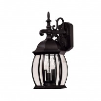 Savoy House Europe Exterior Collections 3 Light Wall Lamp