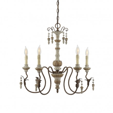 Savoy House Europe Dauphin Avignon 5 Light Chandelier