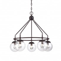 Savoy House Europe Argo 5 Light Chandelier