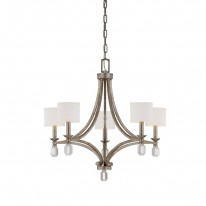 Savoy House Europe Filament 5 Light Chandelier