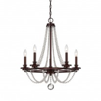 Savoy House Europe Byanca 5 Light Chandelier