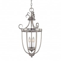 Savoy House Europe Entry Lantern 3 Light Hanging Lamp 5