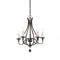 Savoy House Europe Alsace 5 Light Chandelier