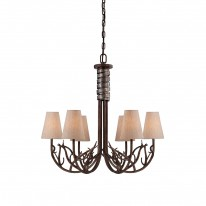 Savoy House Europe Brambles 6 Light Chandelier