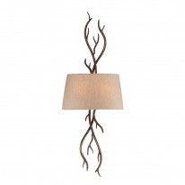 Savoy House Europe Brambles 2 Light Wall Lamp